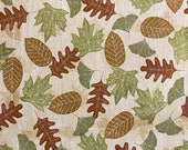 Autumn Fallen Leaves Cloth Mask