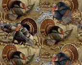 Wild Turkey All Over Cloth Mask