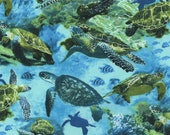 Sea Turtles in Ocean Cloth Mask