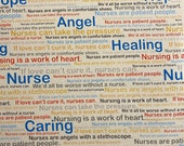 Nurses Healing and Caring Inspirational Cloth Mask