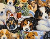 Puppies Medley Cloth Mask