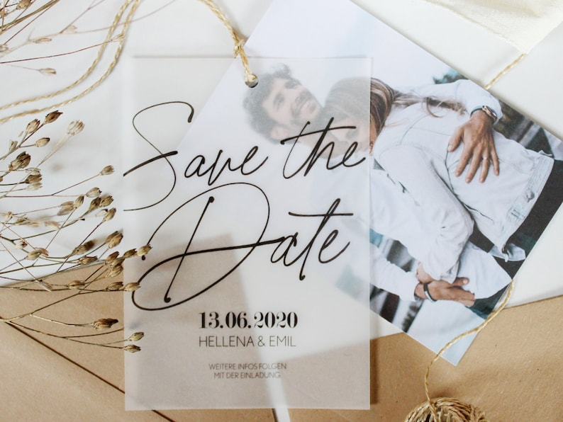 Foto Save the Date Idee