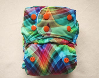 One Size Cloth Diaper, Rainbow Diaper,Baby Diaper, Pocket diapers, Cloth diapers, Zorb Insert,Bamboo Insert,Cloth Diaper Pattern,Cloth nappy