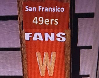 San Francisco 49ers Welcome Sign