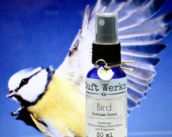 Bird Cosplay Accessory, Cosplay Costume Fragrance, LARP Costume Scent, Theater Costume, 30 ml, Fragrance Spray Bottle, Duft Werks