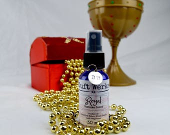 Royal Cosplay Accessory, Cosplay Costume Fragrance, LARP Costume Scent, Theater Costume, 30 ml, Fragrance Spray Bottle, Duft Werks