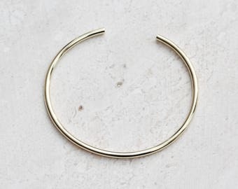 Gold Bangle - Layering Bangle - Simple Bangle - Gold Bangle Bracelet - Bangle Bracelet - Gift for her