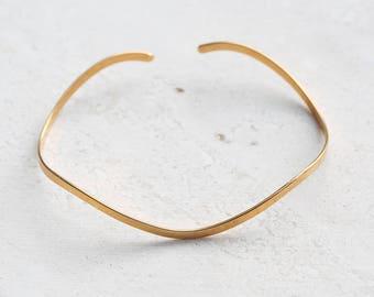 Simple cuff bracelet - simple bangle bracelet - simple bracelet - bangle bracelet - cuff bracelet - minimalist jewelry