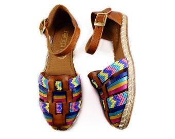 d86ae68ea55a Mexican Huaraches Sandals Tan