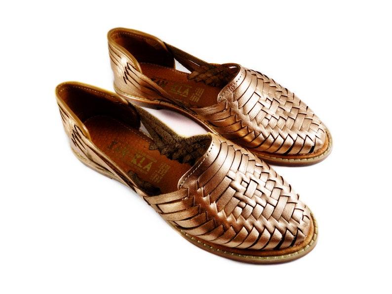 Rose Huarache Huarache Rose Gold Gold Rose Sandals Sandals Huarache Sandals OPikZTXu