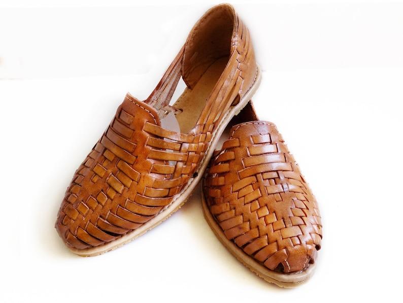 bb3b89001b5 Mexican Huaraches Sandals Tan