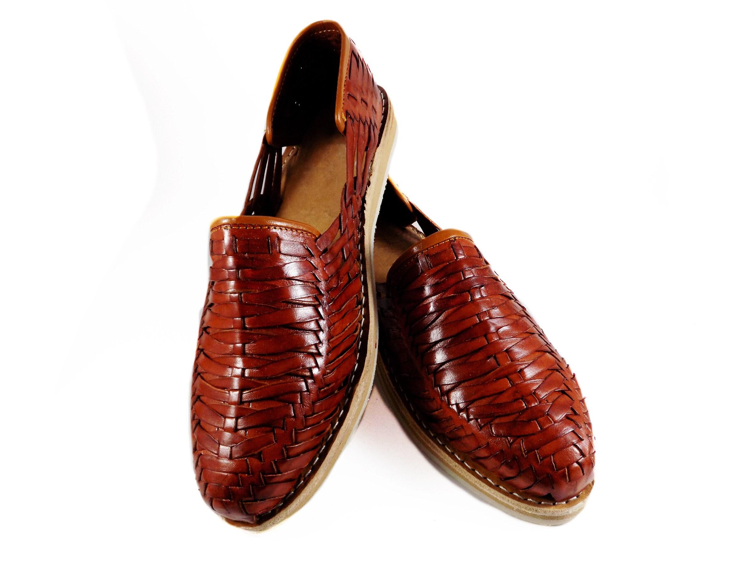 f0db62fd79c Mens huarache sandals Mahogany Porfirio
