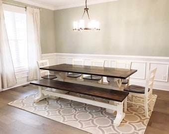 Strange Dining Room Kitchen Table Set Table 4 Chairs Bench Etsy Ocoug Best Dining Table And Chair Ideas Images Ocougorg