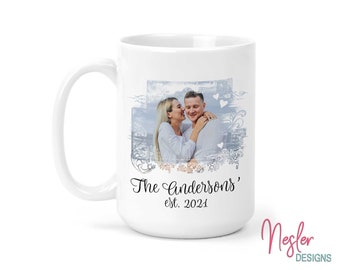 Personalized Gift, Custom Coffee Mug, Photo Gift, Valentine's Day Gift, Mother's Day Gift, Anniversary Gift