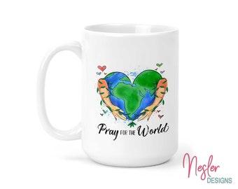 Pray For The World Coffee Mug