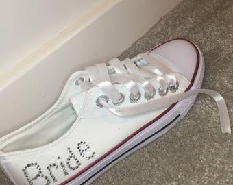 Bride jewelled Sneakers