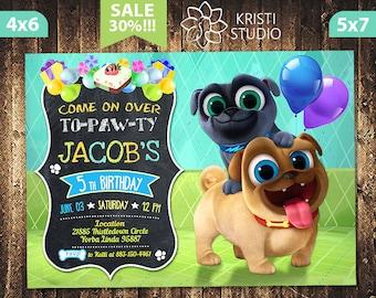 Puppy Dog Pals Invitation