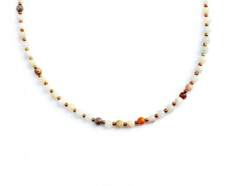 Dee necklace (Small Beads)