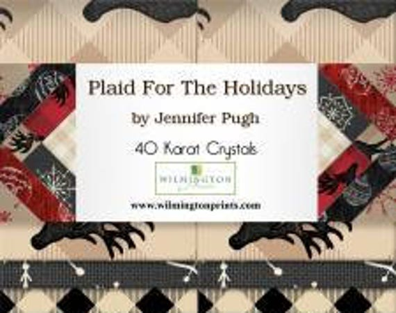 "Plaid for the Holidays 2-1/2"" Strips"