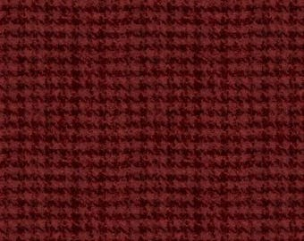 Woolies Flannels Red Yardage