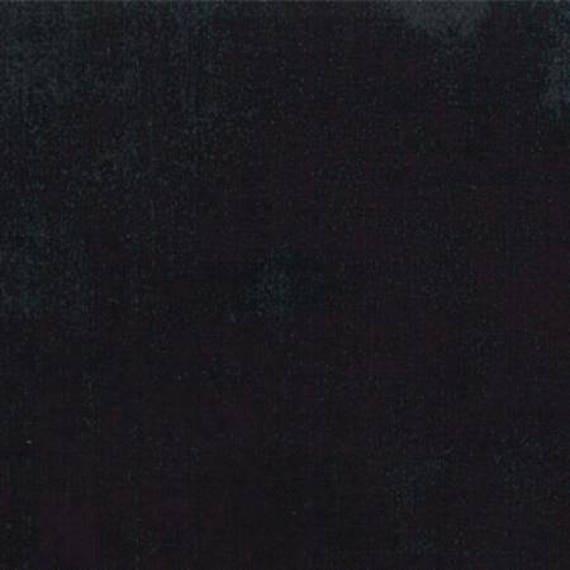 Moda Black Dress Grunge Cotton Fabric