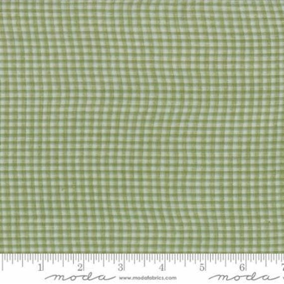 Moda Garland Green Wovens Fabric
