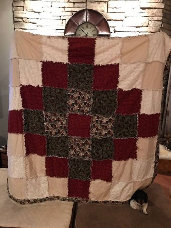 Winter Raggs Quilt 62x62