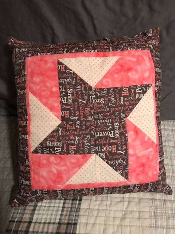 Breast Cancer Pillow 11x11