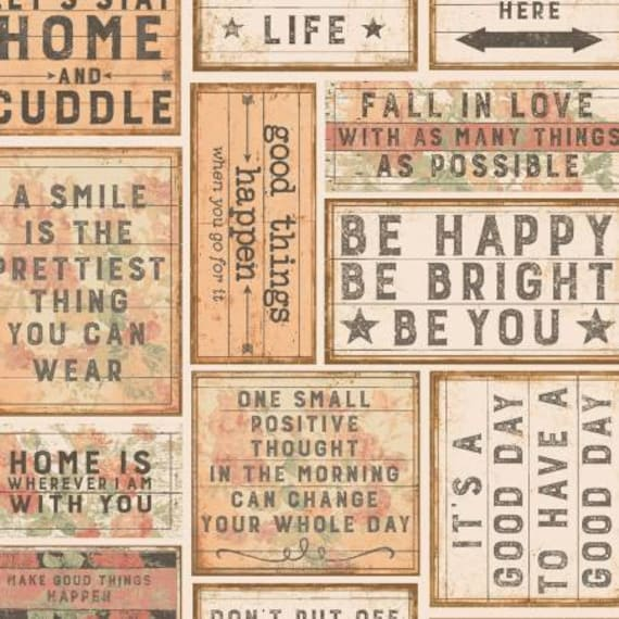 Love Lives Here Messages yardage