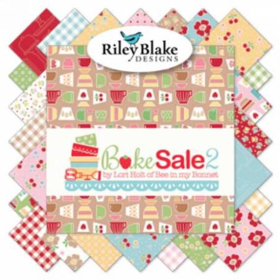 """Bake Sale by Riley Blake (Rolie Polie) 2-1/2"""" strips"""