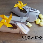 Box dragees windmill theme box
