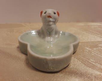Kitten Ring Dish, Vintage Made in Japan
