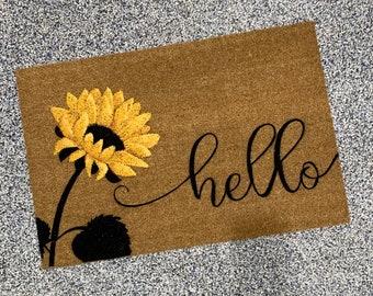 Sunflower Rug Etsy