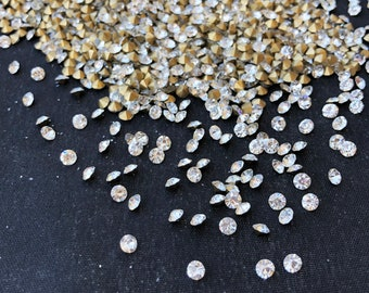 c0cc995b0db Swarovski Crystals - Gold Foiled