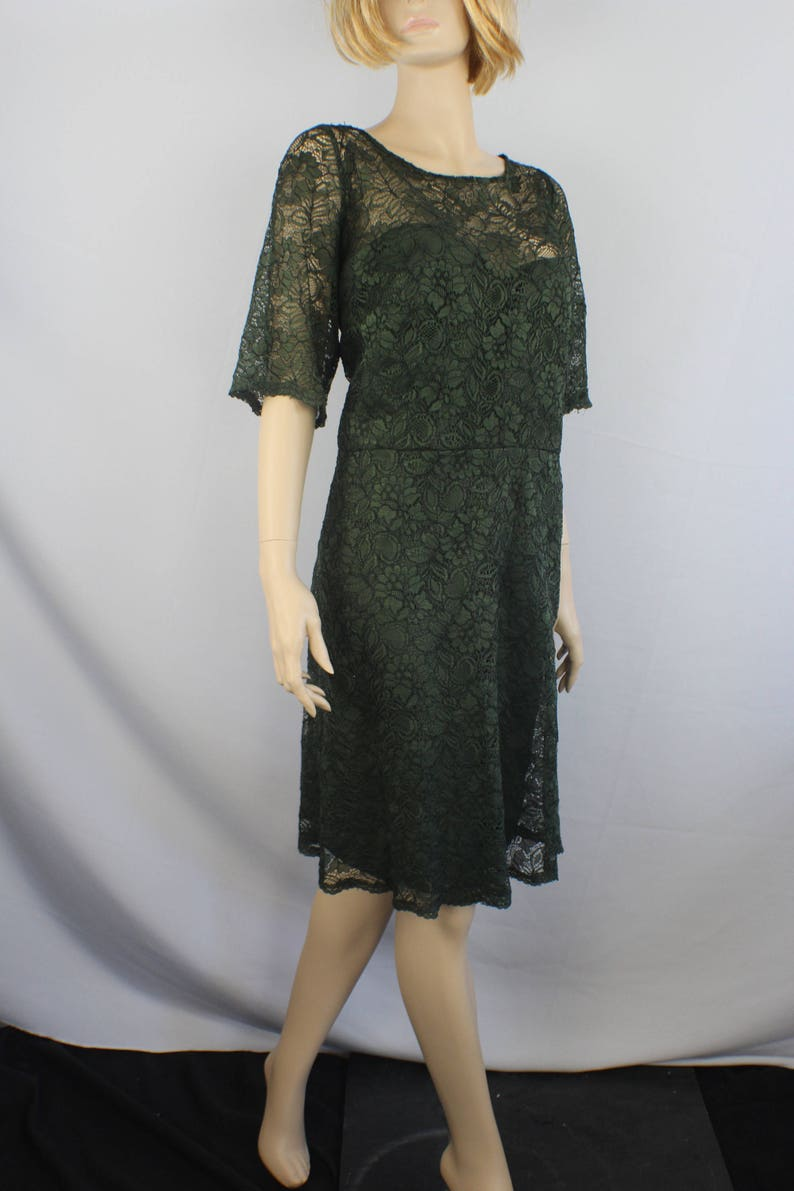 plus size prom dress,90s prom dress, extra large, plus size, vintage 1990s  dress, green lace prom dress, 1990s L XL XXL extra large 24 20
