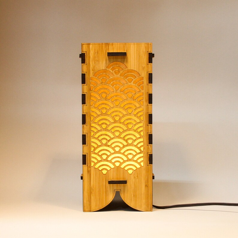 Japanesebamboo Lamplantern Decorwooden Lamphome Decorationhousewarming Gift