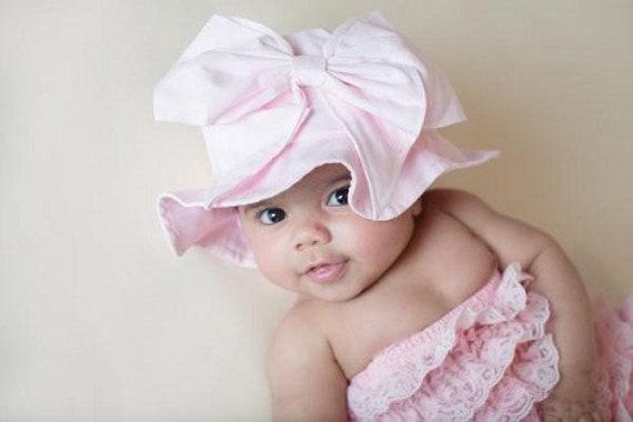 c07b54eb32ee8 Baby Sun Hats-Trendy Baby Hats Cute Baby Sun Hats Pale Pink