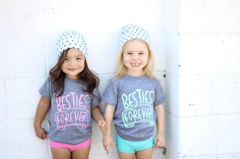 fd4098c23 Besties Forever kids shirt BFF shirt Best Friends shirt | Etsy