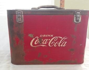 Coca cola cooler   Etsy