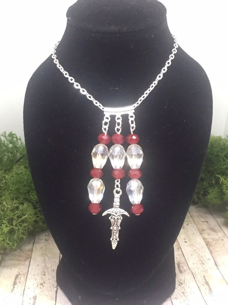 Pagan necklace Witch necklace wicca necklace Wiccan jewelry Athame necklace Pagan Wicca Dagger necklace Pagan gifts Witchy gift