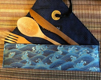 Zero Waste Kit with Bamboo Cutlery