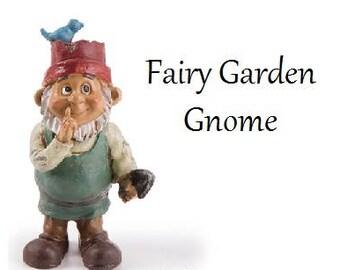 Fairy Garden Gnome, Miniatures