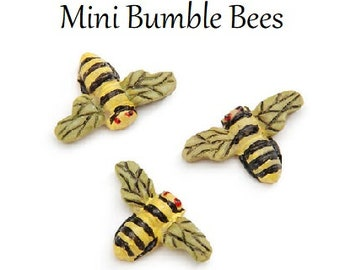 Bumblebees, Mini Insects, Fairy Garden