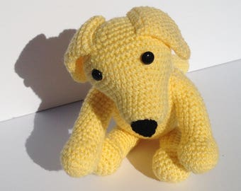 Amigurumi Yellow Lab Puppy