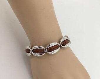 974bc9a4e6 Woman leather bracelet, boho bracelet, woman bracelet, bohemian bracelet,  zamak bracelet, spanish bracelet, silver bracelet, wrap bracelet