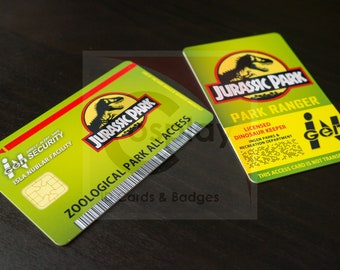 Jurassic Park World Ranger ID Badge