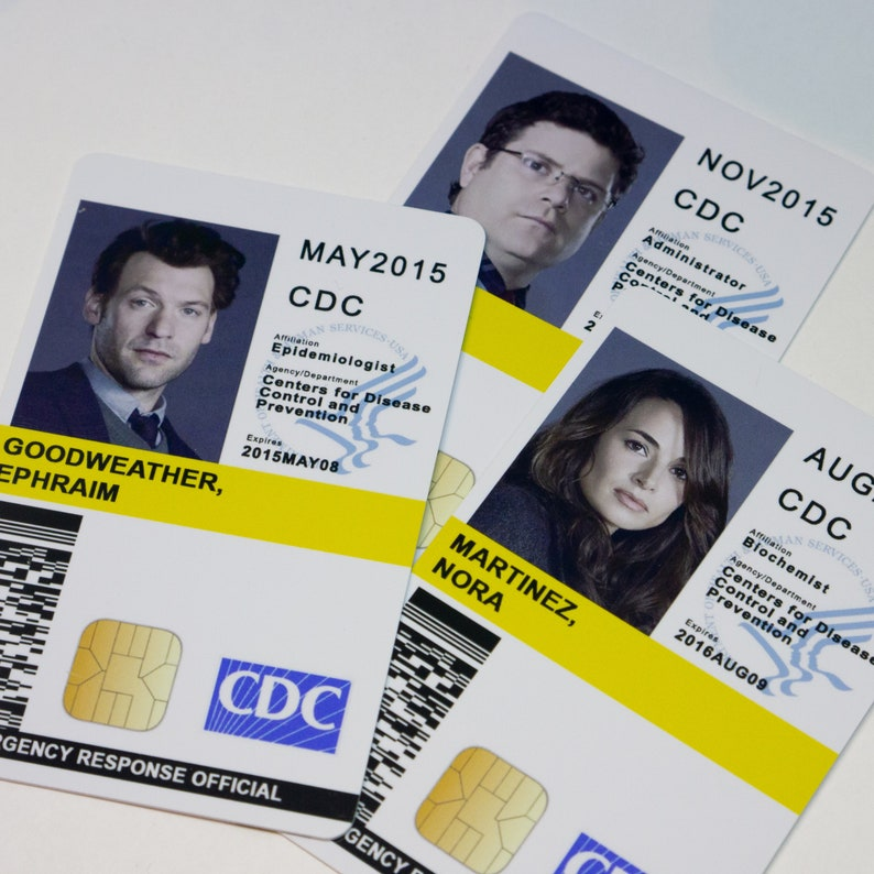 The Strain Cosplay ID Card Badge, Screen Accurate, CDC ID Badge