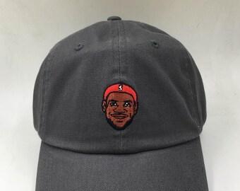 Lebron James Los Angeles Lakers Custom Dad Hat  NEW  eb5fc0879c66