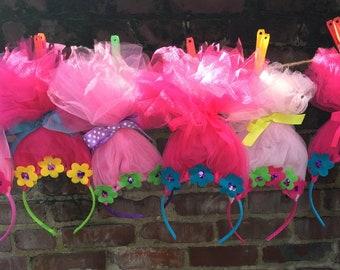 Troll Headbands Poppy Branch Dj Suki Birthday Party Favor Princess Trolls Hair