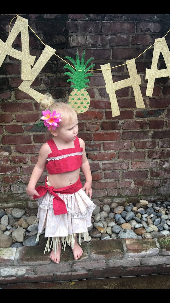 b98e1f39bff6 Moana shirt and skirt set disney princess birthday smash cake
